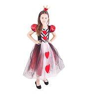 Kostým princezná srdcová veľ. L - Detský kostým