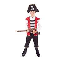 Kostým pirát s klobúkom veľ. L - Detský kostým