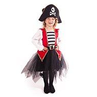 Kostým pirátka veľ. M - Detský kostým