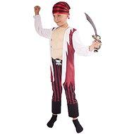 Kostým pirát so šatkou veľ. M - Detský kostým