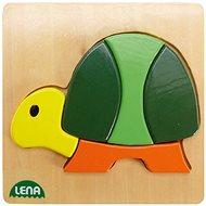 Lena Drevené Puzzle – korytnačka - Puzzle