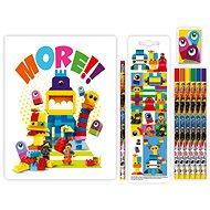 LEGO Movie 2 Stationery Súprava so zápisníkom Duplo - Školská súprava
