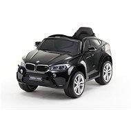 BMW X6M NEW – jednomiestne, čierne lakované - Detské elektrické auto