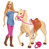 Barbie Doll with horse - Doll