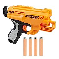 Nerf Accustrike Quadrant - Detská pištoľ