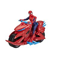 Spiderman na motorce