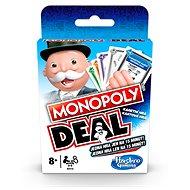 Monopoly Deal CZ, SK - Kartová hra