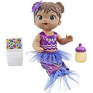 Baby Alive Tmavovlasá morská panna - Bábika