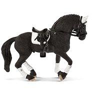 Figúrka Schleich 42457 Turnajový žrebec Frízskeho koňa
