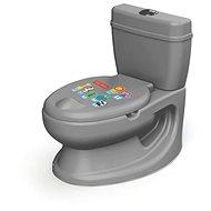 Dolu Detská toaleta Fisher Price - sivá - Nočník