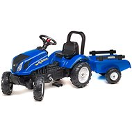 Tractor with Flatbed - Blue - Balance Bike