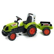Traktor s valníkem zelený - Šliapací traktor