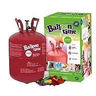 Helium Balloon Time 30 detská súprava – nálepky veselé tváričky, balóniky a stuha