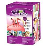 Helium Balloon Time 50 detský set – nálepky Veselé tváre, balóniky a stuha