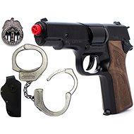 Policajná sada Špecálne jednotky malá - Detská pištoľ