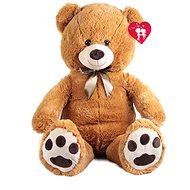 Rappa medveď velký s visačkou – tmavší (100 cm) - Plyšová hračka