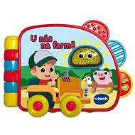 Vtech knižka – U nás na farme - Kniha pre deti