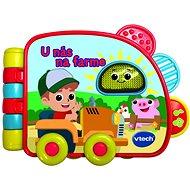 Vtech kniha – U nás na farme SK - Kniha pre deti