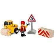 Brio World 33899 Hrací set práce na silnici - Vláčikodráha
