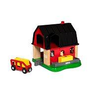 Brio World 33936 Farma Smart Tech - Vláčikodráha