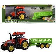 Traktor s prívesom - traktor