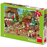 Dino Krtko v kuchyni 100xl puzzle nové - Puzzle