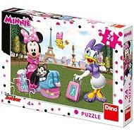 Dino Minnie v Paríži 24 dielikov - Puzzle