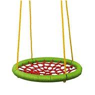 Woody Hojdací kruh (priemer 83 cm) – zelenočervený - Hojdačka