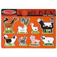 Melissa-Doug Zvieratá na farme - Puzzle