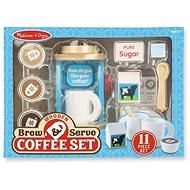 Melissa-Doug Set na prípravu kávy - Drevená hračka