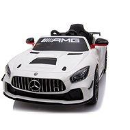 Mercedes-Benz GT4, biele - Detské elektrické auto