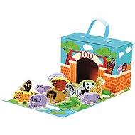 Cestovný kufrík so zvieratkami – ZOO - Didaktická hračka