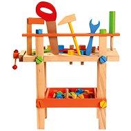 Detský pracovný stôl s náradím - Herná sada