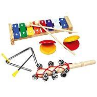 Hudobný set s trianglom - Hudobná hračka