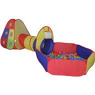 Stan s tunelom a loptičkami - Detský stan