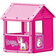 Dolu Můj první zahradní domek růžový, jednorožec - Detský domček