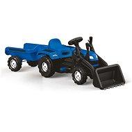 Dolu Šliapací traktor Ranchero s vlečkou a nakladačom - Šliapací traktor
