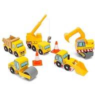 Le Toy Van Set stavebných strojov - Herný set