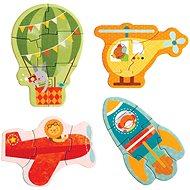 Petitcollage Prvé puzzle letecké prostriedky - Puzzle