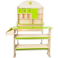 Small Foot Prodejní stánek zelený - Herný set