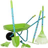 Small Foot Veľká záhradná súprava s kolieskami - Hra na záhradu