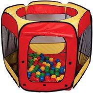 Hrací stan s loptičkami - Detský stan