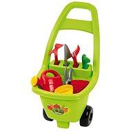 Ecoiffier Záhradný vozík s náradím a príslušenstvom - Detský záhradný fúrik