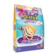 Glibbi Glitter Slime sliz fialový trblietavý, DP10 - Hračka do vody