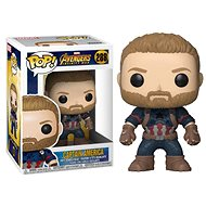 Funko Pop Marvel: Infinity War – Captain America - Figúrka