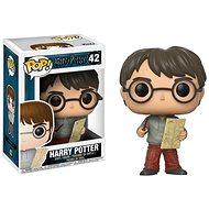 Funko Pop Movies: Harry Potter – Harry w/Marauders Map - Figúrka
