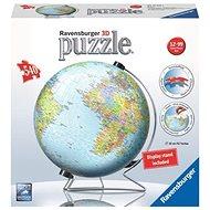 Ravensburger 124367 Ball Globus (anglický) - Puzzle