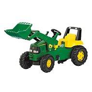 RollyToys Rolly Junior John Deere s předním nakladačem - Šliapací traktor