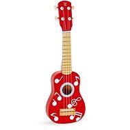 Hape Ukulele červené - Hudobná hračka