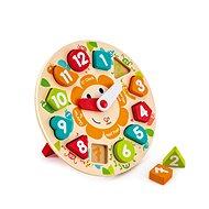 Hape Detské puzzle hodiny - Puzzle
